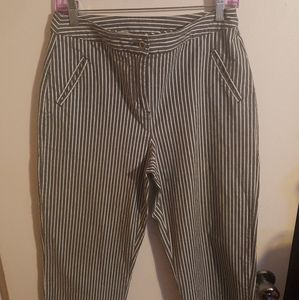 Additions by chico's Stripe Cropped Pants 0.5